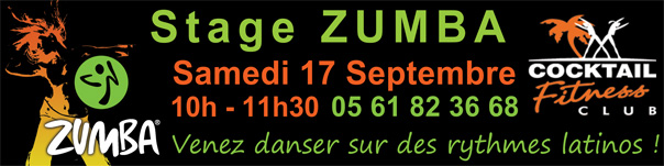 zumba cocktail fitness toulouse grenade