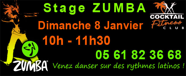 stage zumba grenade toulouse